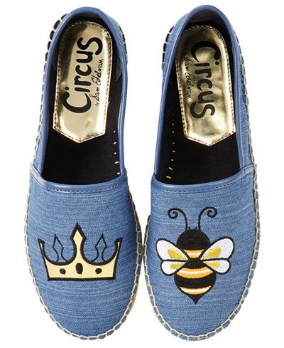 ad8f72f8d Circus By Sam Edelman Queen Bee Espadrille Flats
