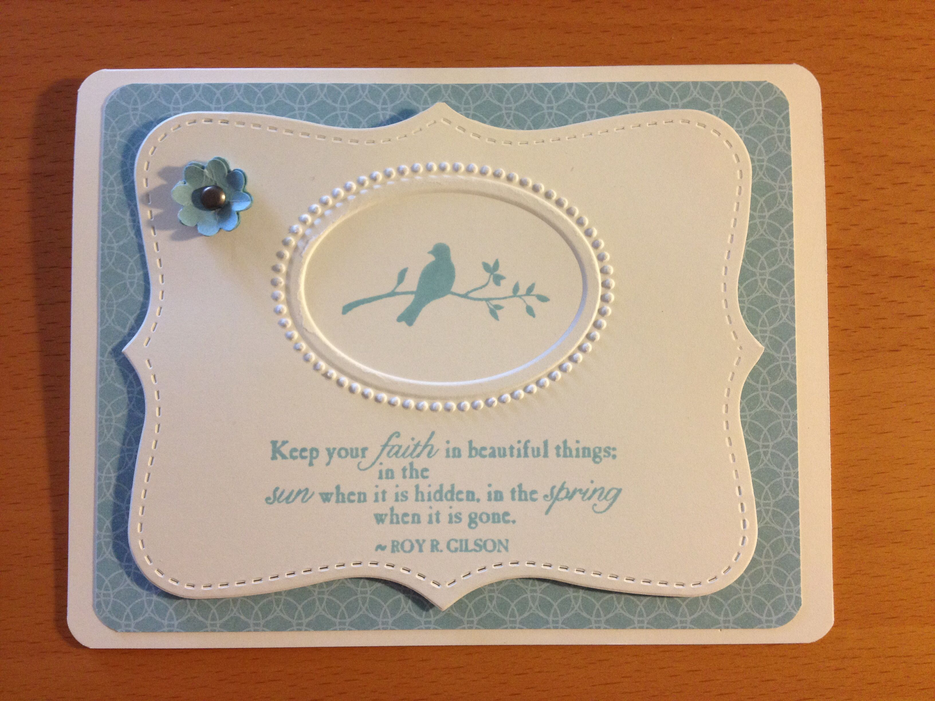 Stampin up sympathy card stampin up cards pinterest