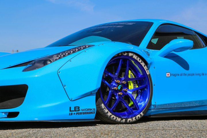rides magazine forgiato ltmotorwerks ltmw liberty walk ferrari 458 italia widebody custom car