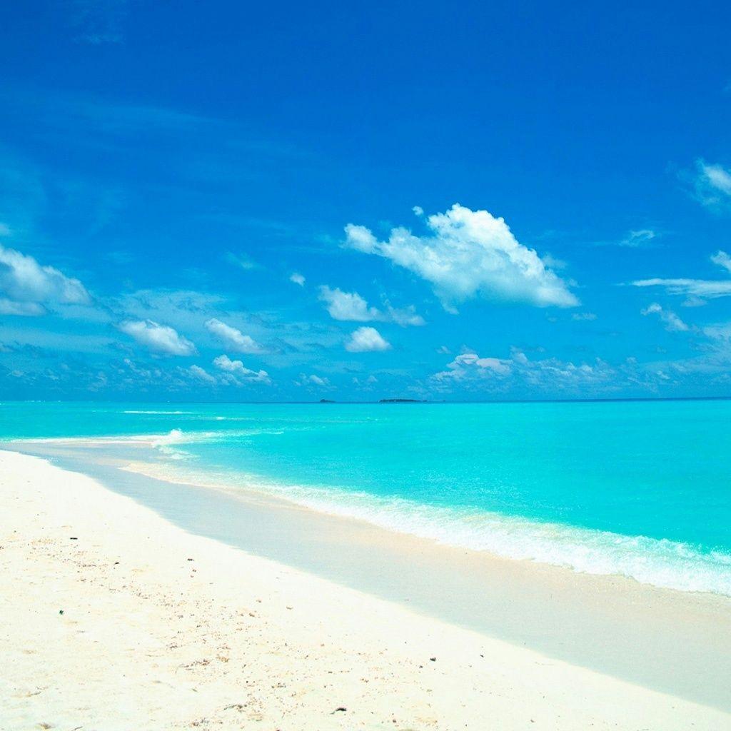 Maldives Beach: Maldives Beach IPad Wallpaper And IPad