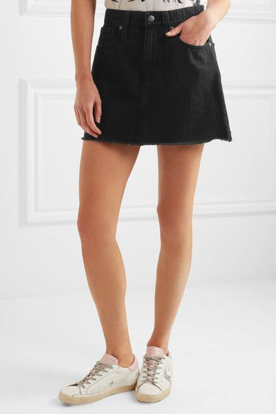 Visit Denim Mini Skirt - Black Madewell Sale Best Place Clearance Footlocker Finishline Cheap Real Authentic sNEw9
