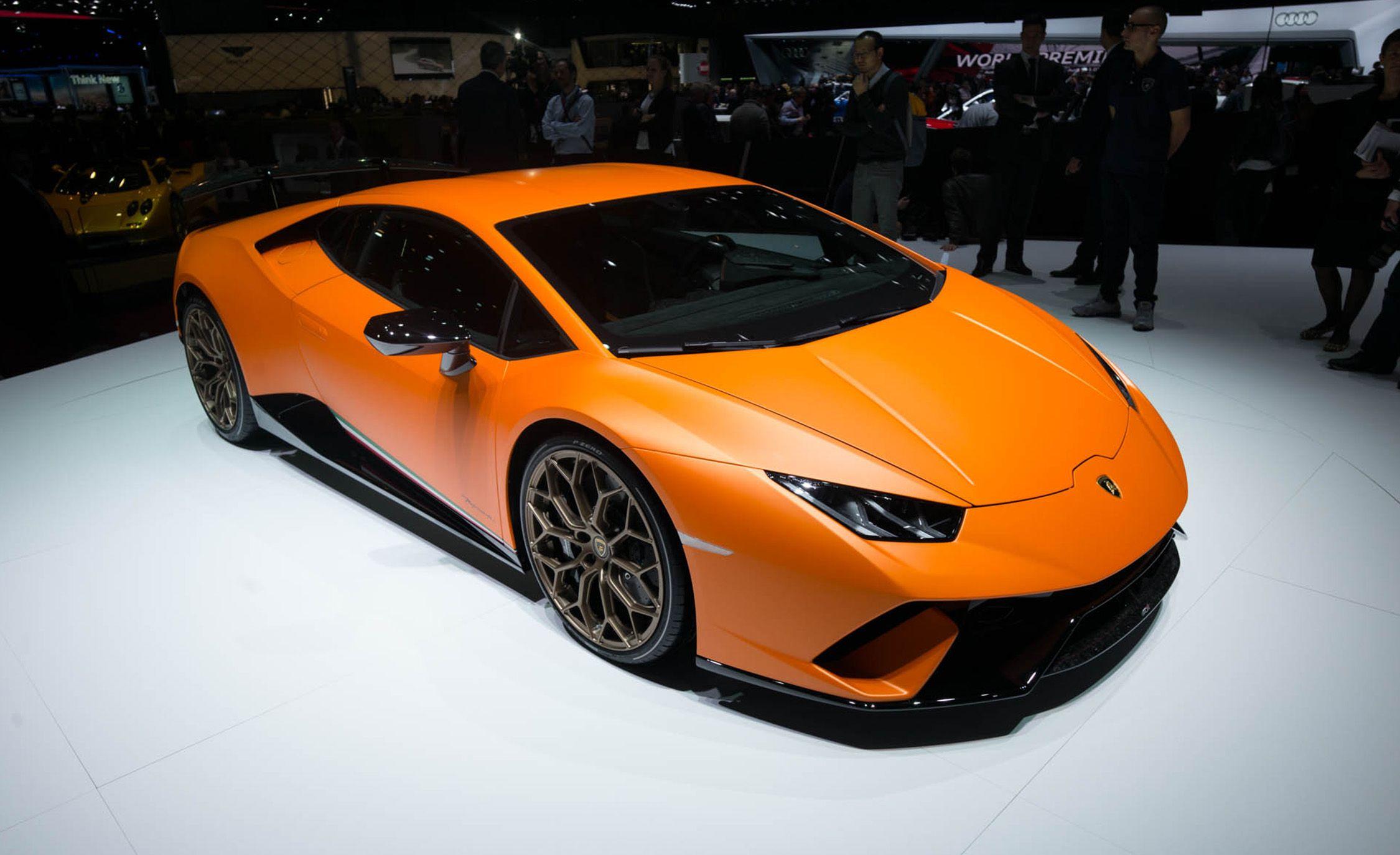 2018 lamborghini orange. Exellent Lamborghini 2018 Lamborghini Huracan Performante Photos And Info  News Car Driver Inside Lamborghini Orange P
