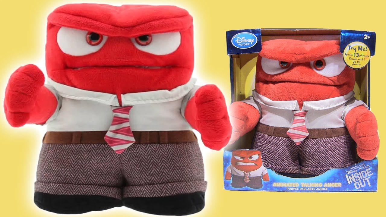 Disney Pixar Inside Out Animated Anger Talking Plush Disney Store Toy by Rainbow Toys TV https://youtu.be/MBGE1A1LtKQ