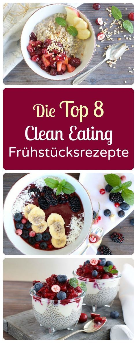 30 Clean Eating Frühstücks-Rezepte