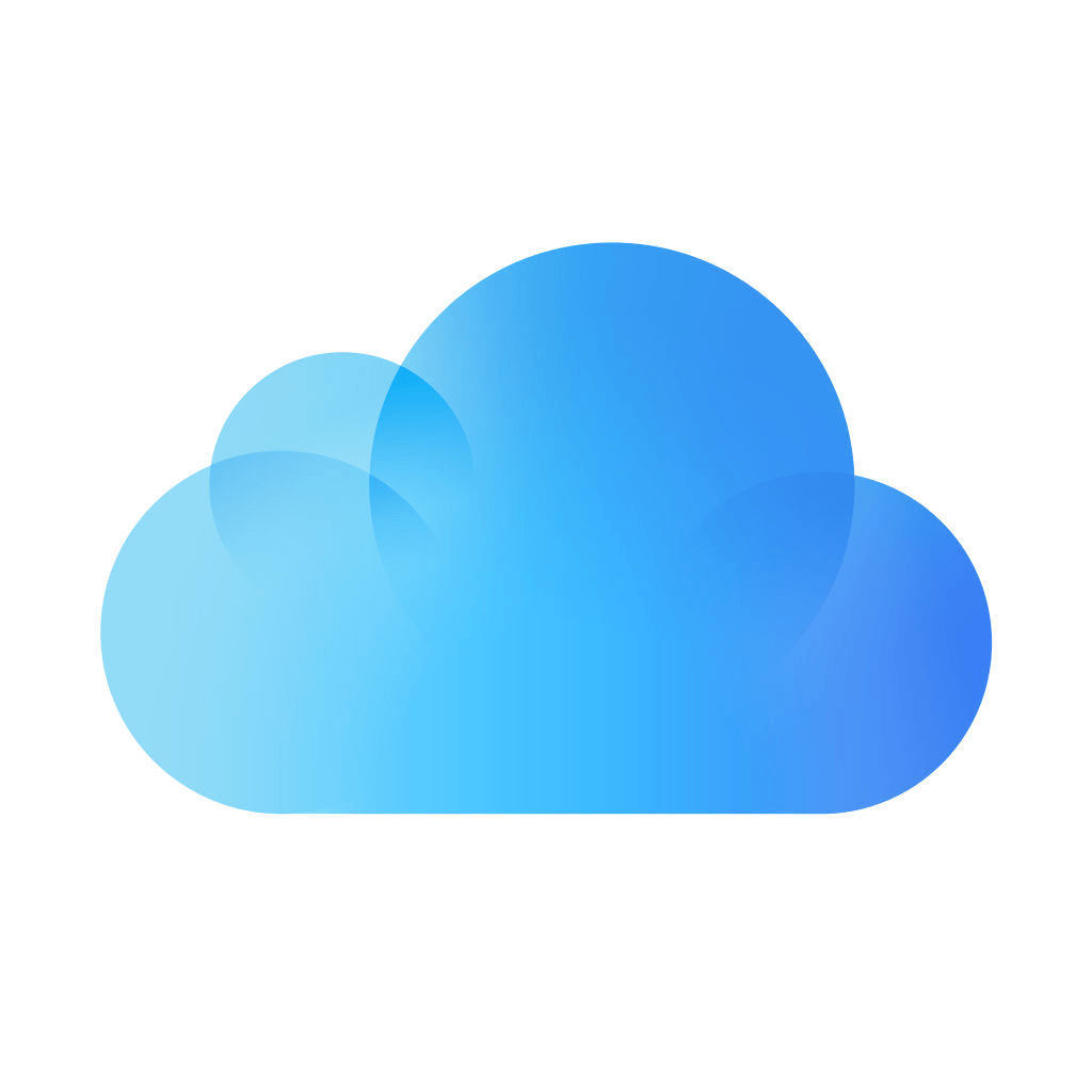 iCloud Drive app icon Apple support, Icloud sign in