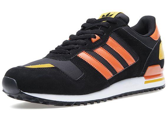 sale retailer b719e dce7d Adidas zx700 black orange yellow