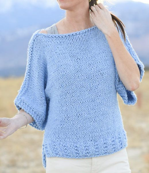 Smart Look in Various Sweater Knitting Patterns | Easy ...