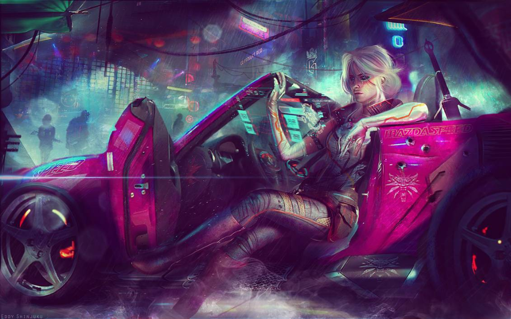 Ciri Cyberpunk 2077 4k Uhd Wallpaper By Eddy Shinjuku On Deviantart Cyberpunk 2077 Cyberpunk Art Urban Fantasy Art