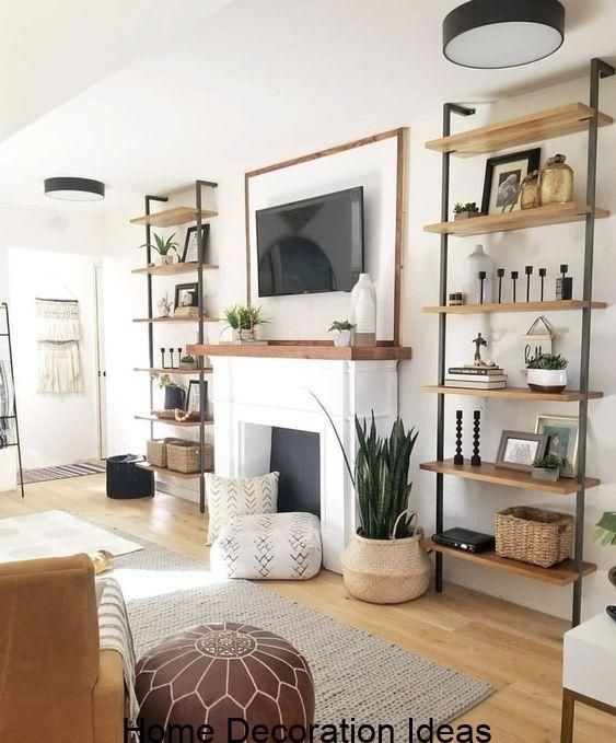Modern Boho  #industrialfarmhouselivingroom