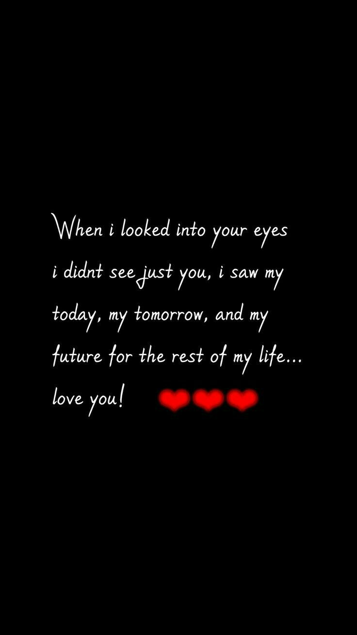 Want to look into your eyes.. it is going to be so amazingfaith