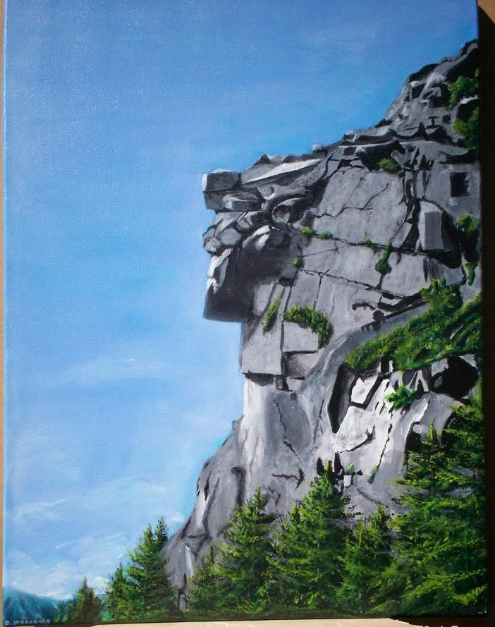 Pelham Artworks: The Old Man of the Mountain | My Style ...