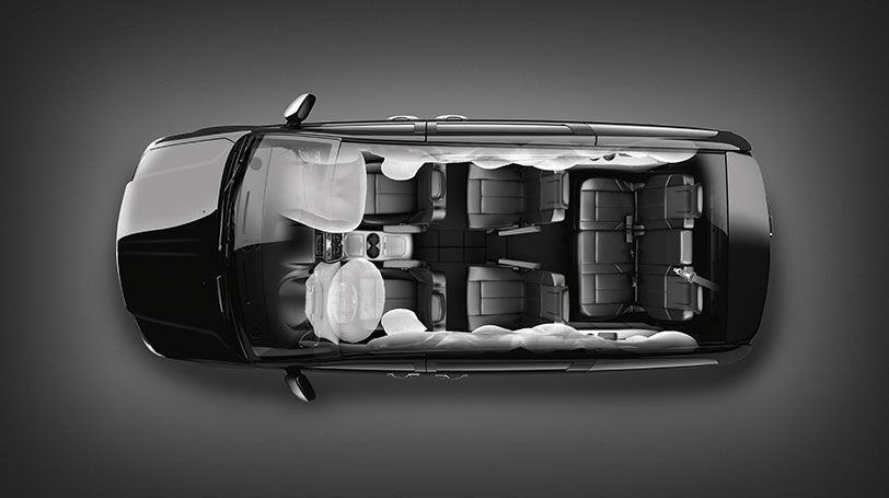 2015 Chrysler Town And Country Safety And Security Airbags