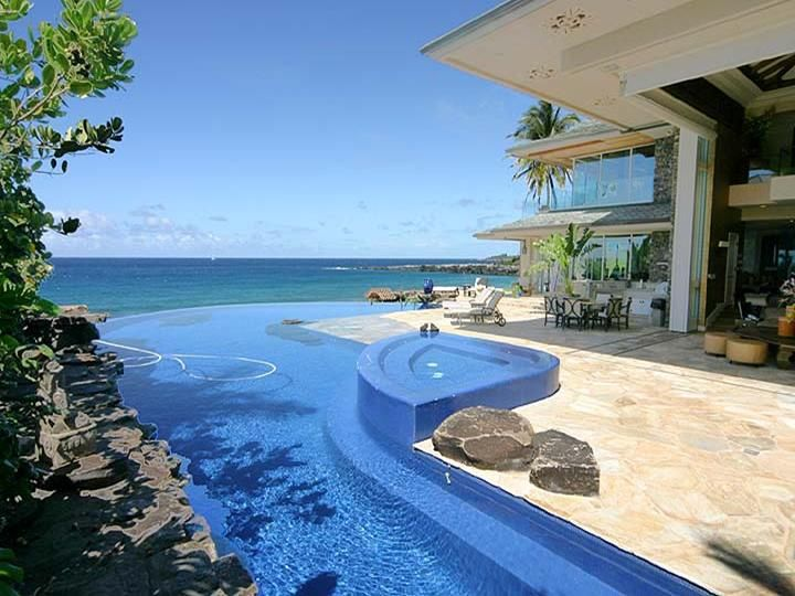 Luxury tiger woods home in extraordinary beachfront hawaii hoax email home design and home interior