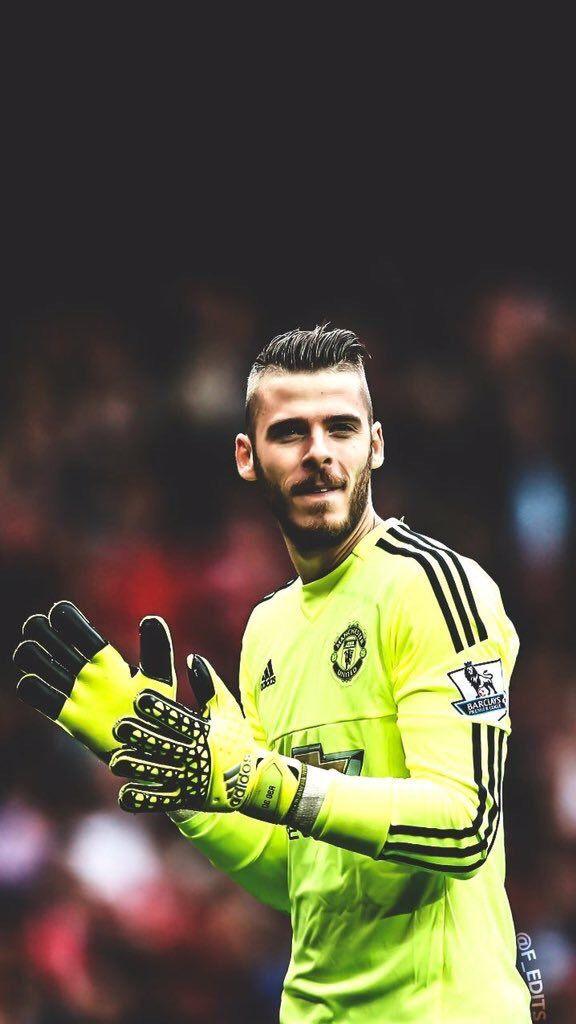 David De Gea Iphone Wallpaper Soccer Manchester United Football