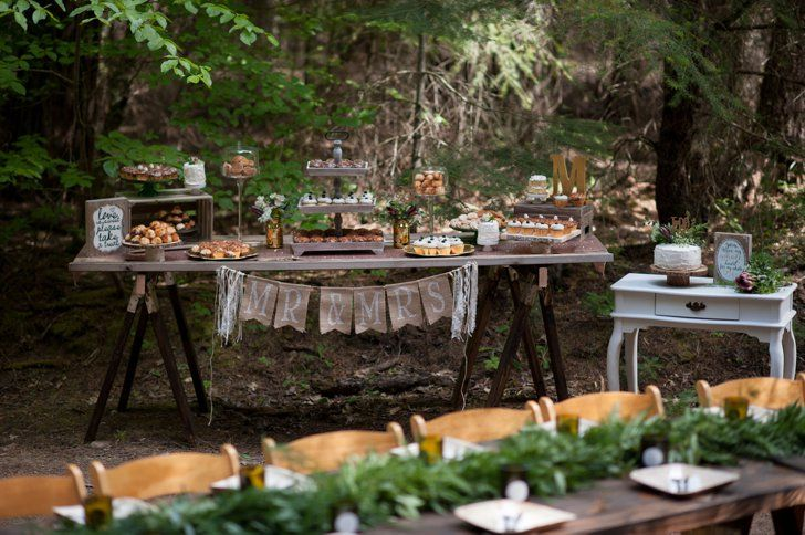 Pin for Later: Every Part of This Serene California Forest Wedding Is Completely Gorgeous