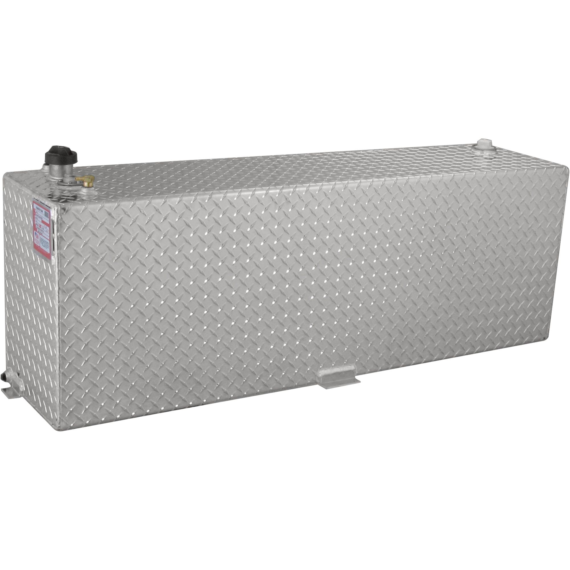 Rds Aluminum Transfer Fuel Tank 60 Gallon Rectangular Diamond Plate Model 71212 Transfer Tanks Diamond Plate Fuel