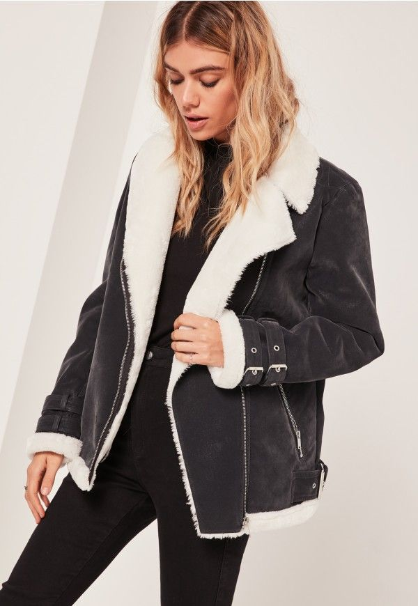 Wrap up in style this month in this fierce pilot style jacket.