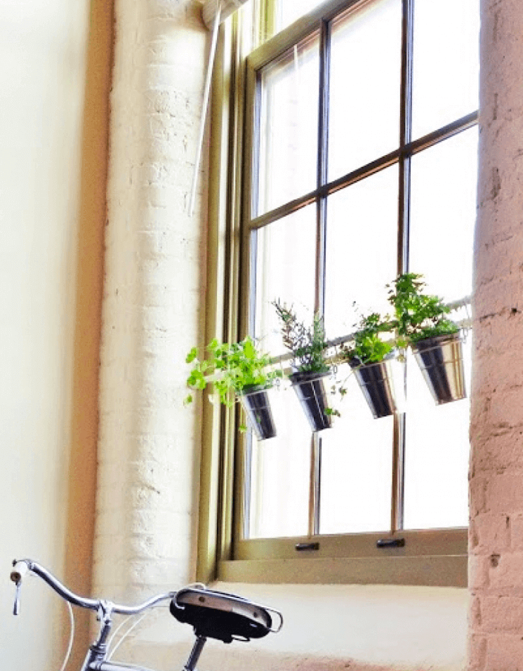 17 Of The Best Ways To Use Tension Rods To Get Organized Tension Rod Window Herb Garden Hanging Garden What is a tension rod