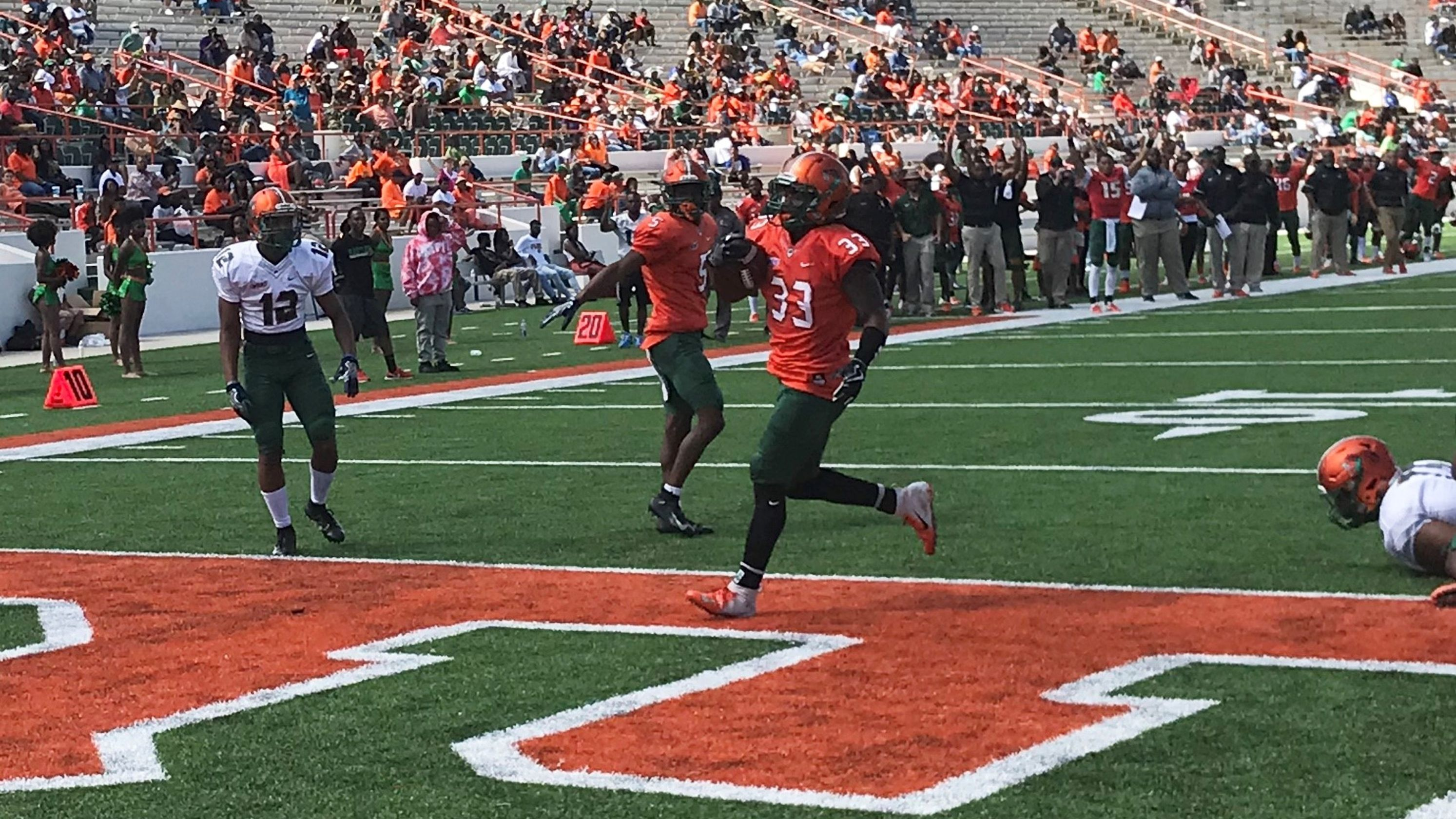 Famu Spring Game Provides Deeper Insight Of Personnel Football