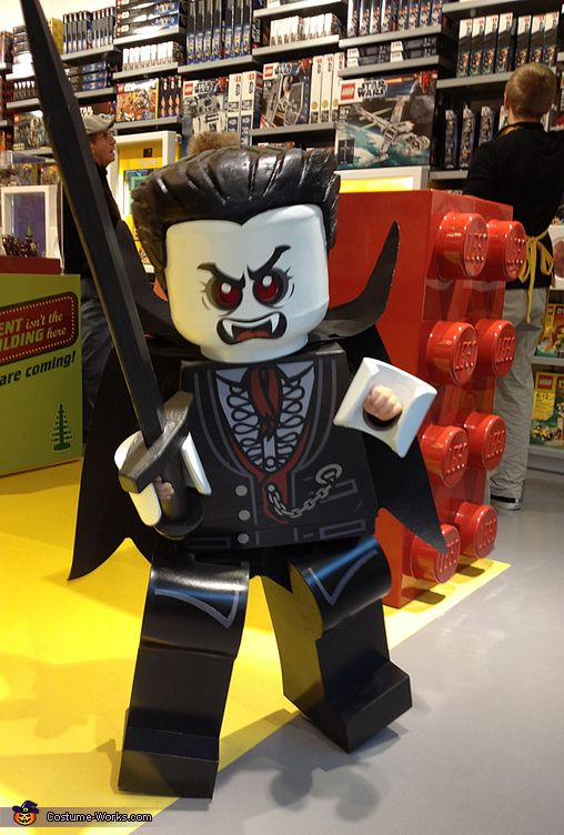 Going to make a LEGO costume for the upcoming movie. This one is extremely well done.
