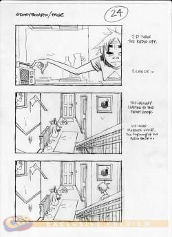 Exclusive Gorillaz Doyathing In New Video Storyboards  Comic