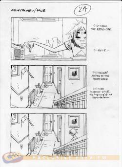 Exclusive Gorillaz Doyathing In New Video Storyboards  Comic