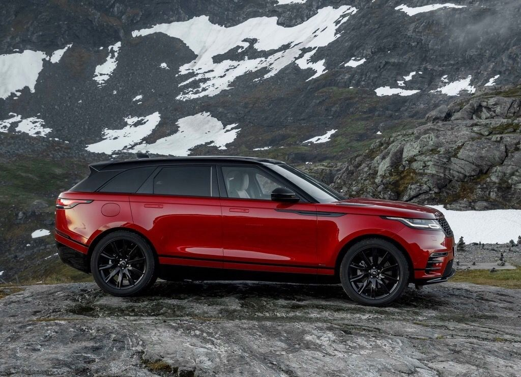 The hottest Rover on the Range. The Range Rover Velar. The