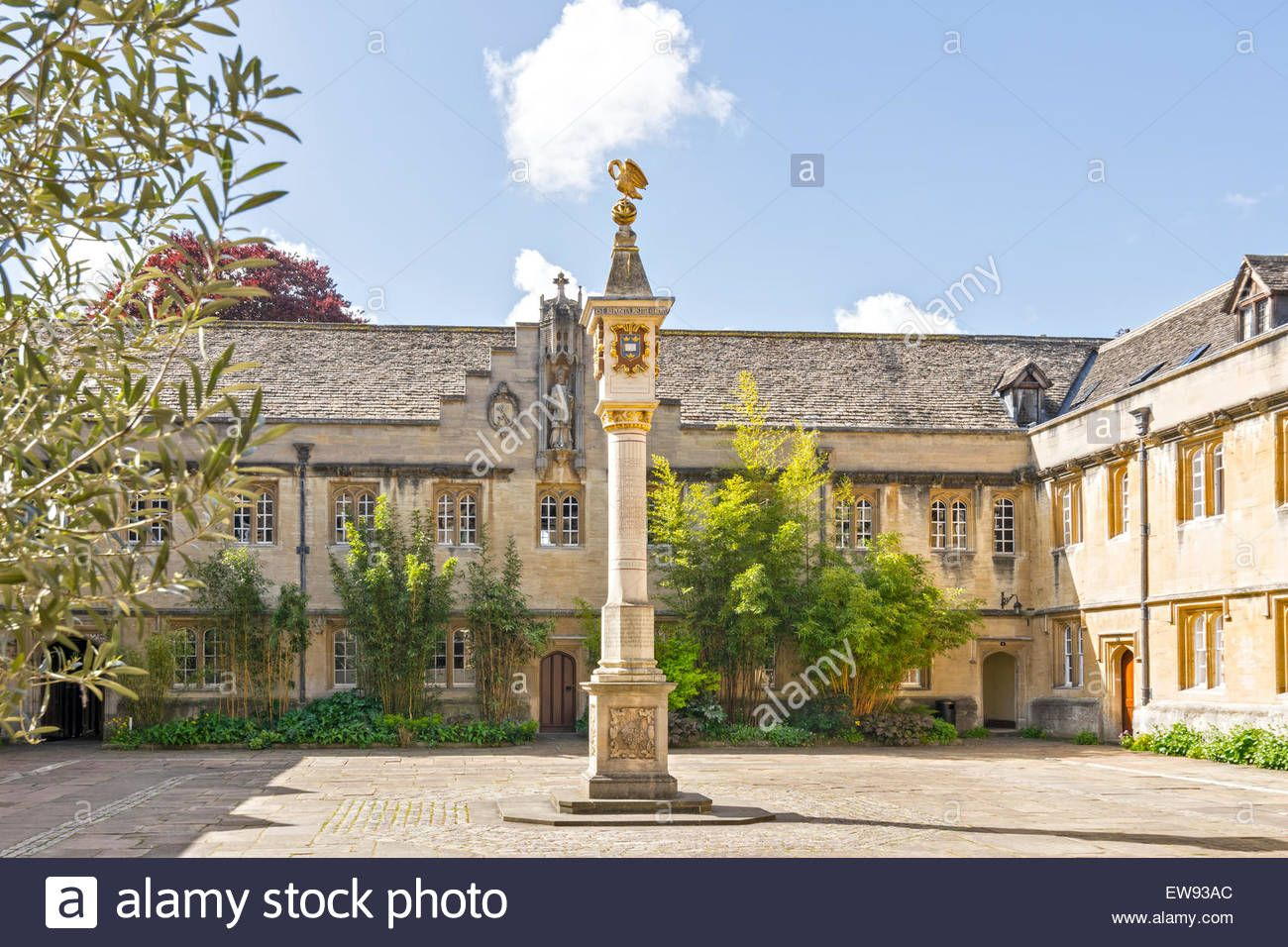 Oxford City Corpus Christi College And The Perpetual