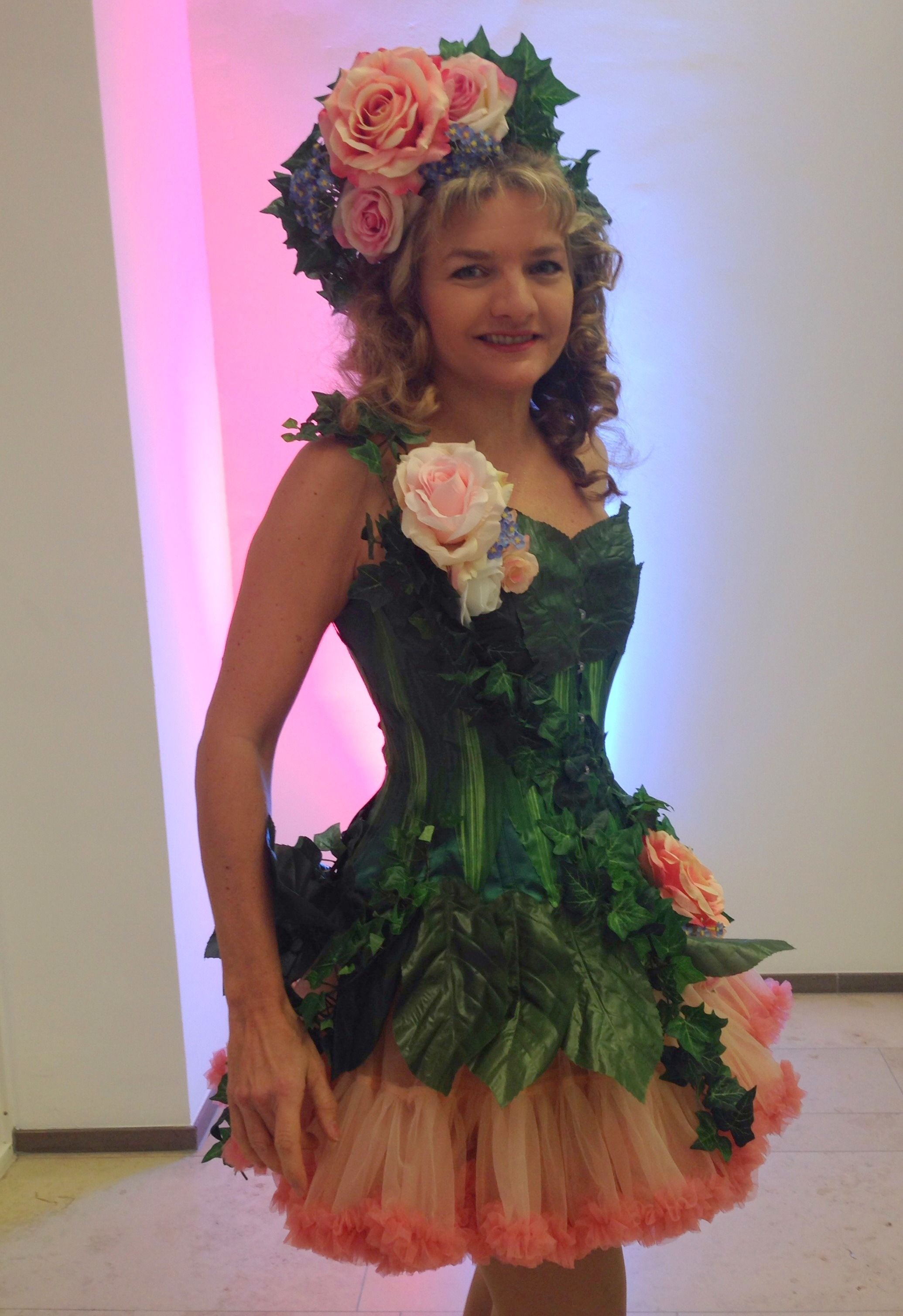 flower fairy kost m bumen elfe sommernachtstraum costumes pinterest fairy kost m. Black Bedroom Furniture Sets. Home Design Ideas