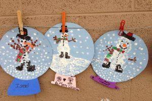 Snow Globe Craft Idea For Kids 1 Winter Crafts For Kids Crafts