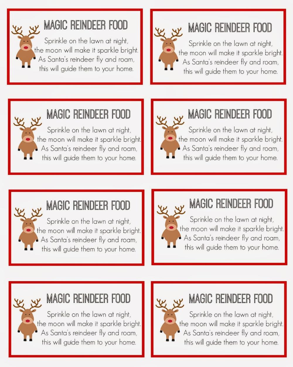 East Coast Mommy Magic Reindeer Food Magic Reindeer Food
