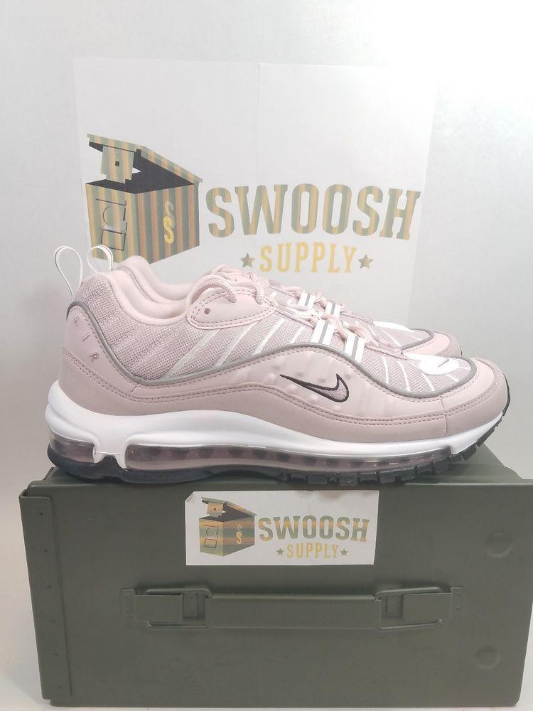 56c4b53f071 Wmns Nike Air Max 98 Pink Barely Rose Elemental Rose Women s Sz 9.5 AH6799  600  Nike  RUNNING