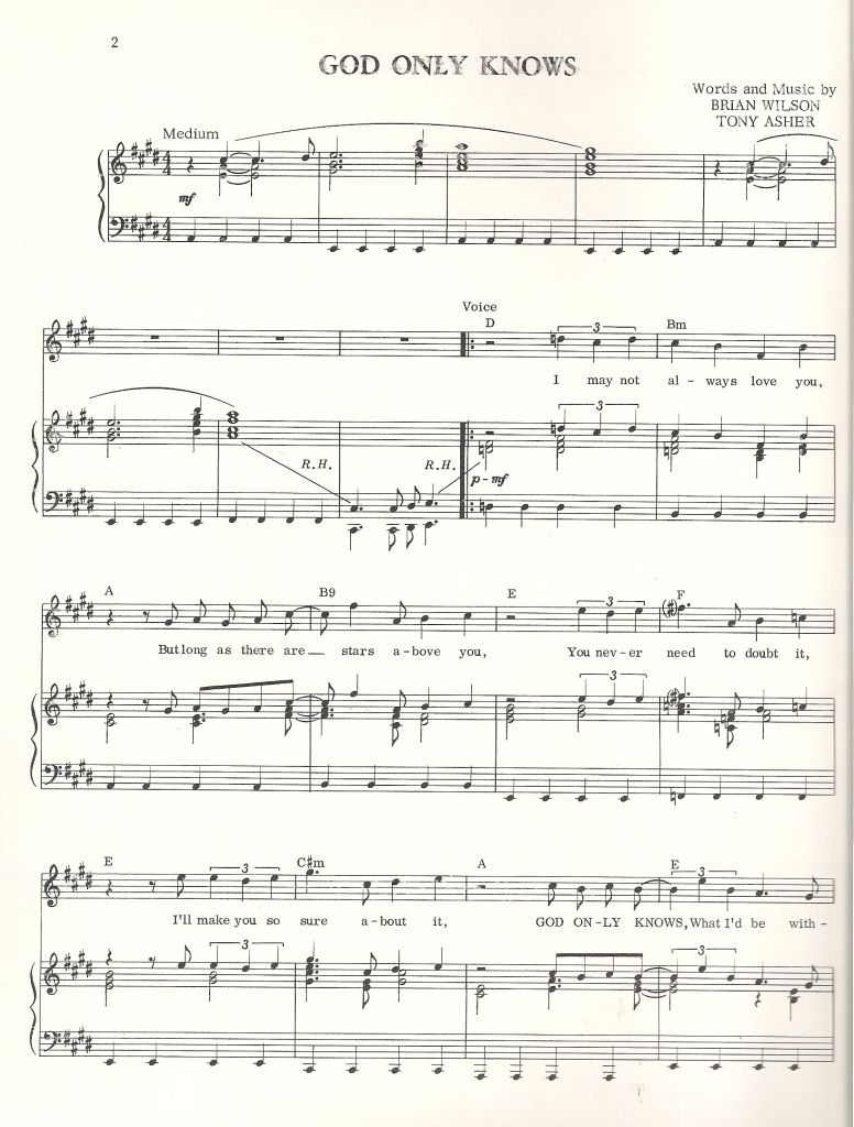 Urgent sheet music for three beach boys songs piano sheet music urgent sheet music for three beach boys songs hexwebz Gallery