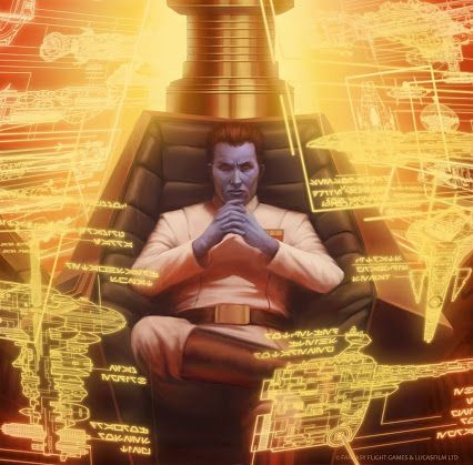 Grand Admiral Thrawn by Tony Foti #starwars