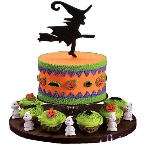 halloween-shower-cakes-3jpg (500×500) This Is Halloween - cake decorations for halloween