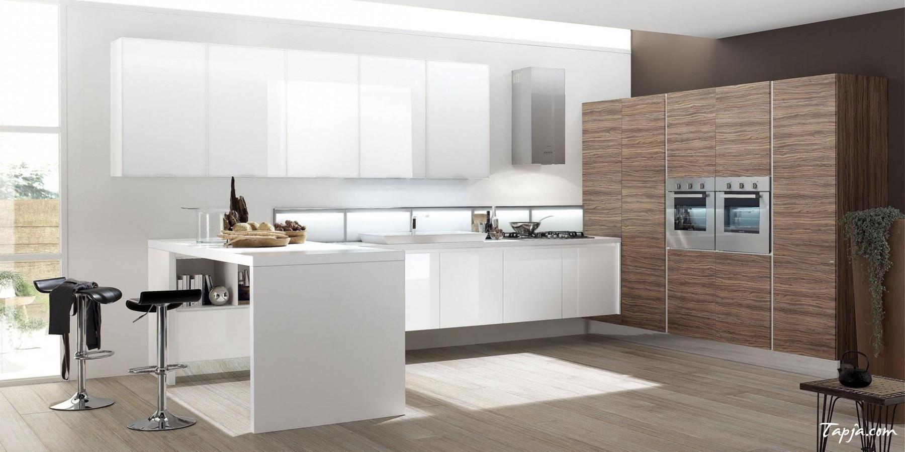 amusing italian modern kitchen design with white kitchen cabinet