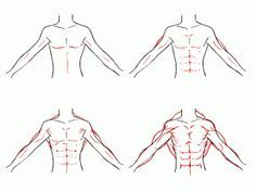 How To Draw Abs Step By Step Google Search Guy Drawing Drawings How To Draw Abs