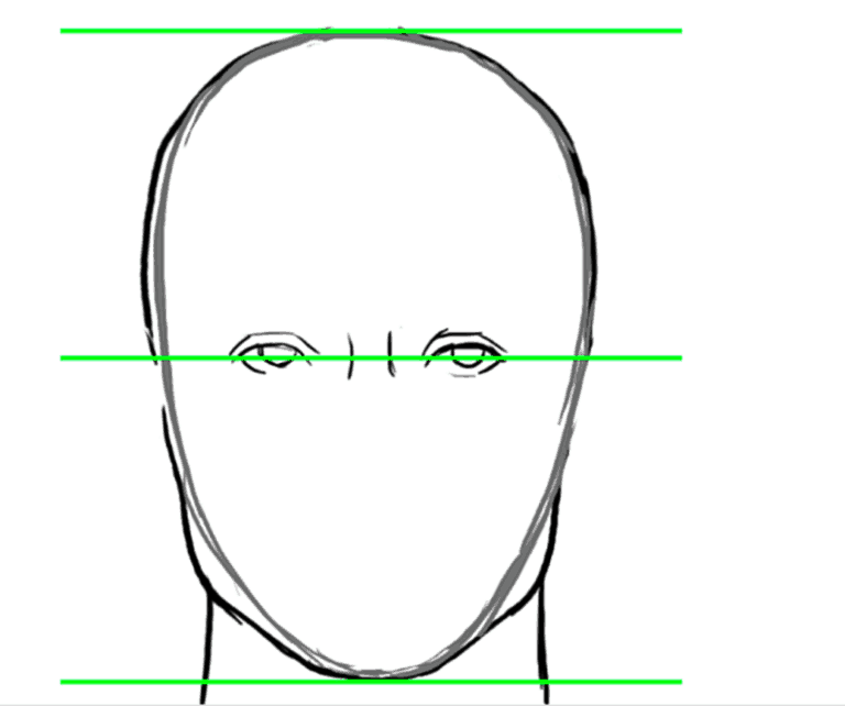 How to draw a face step-by-step for beginners | How to ...