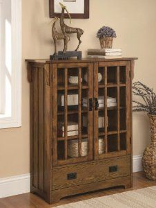 Curio Cabinet With 4 Shelves Distressed Warm Brown Oak Finish By Coaster By Coaster Home Furnishings 379 00 4 She Furniture Coaster Furniture Home Decor