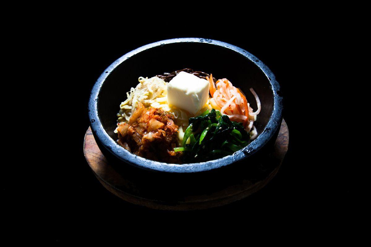 돌솥 치즈 비빔밥 ¥1,300