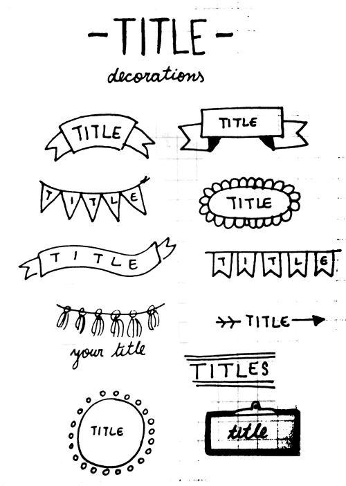 Como Hacer Titulos Buscar Con Google Manualidades Y Dibujos