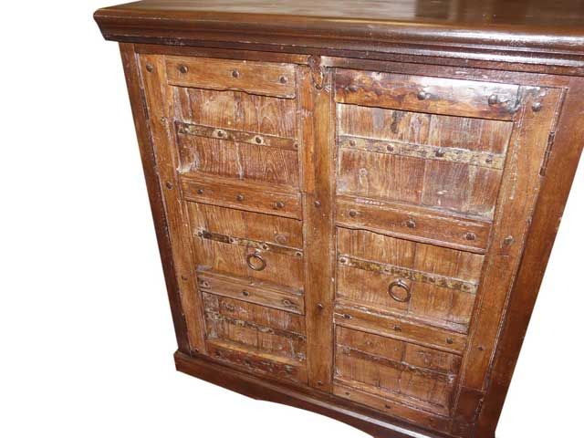 Rustic Wooden Sideboard Buffets Furniture