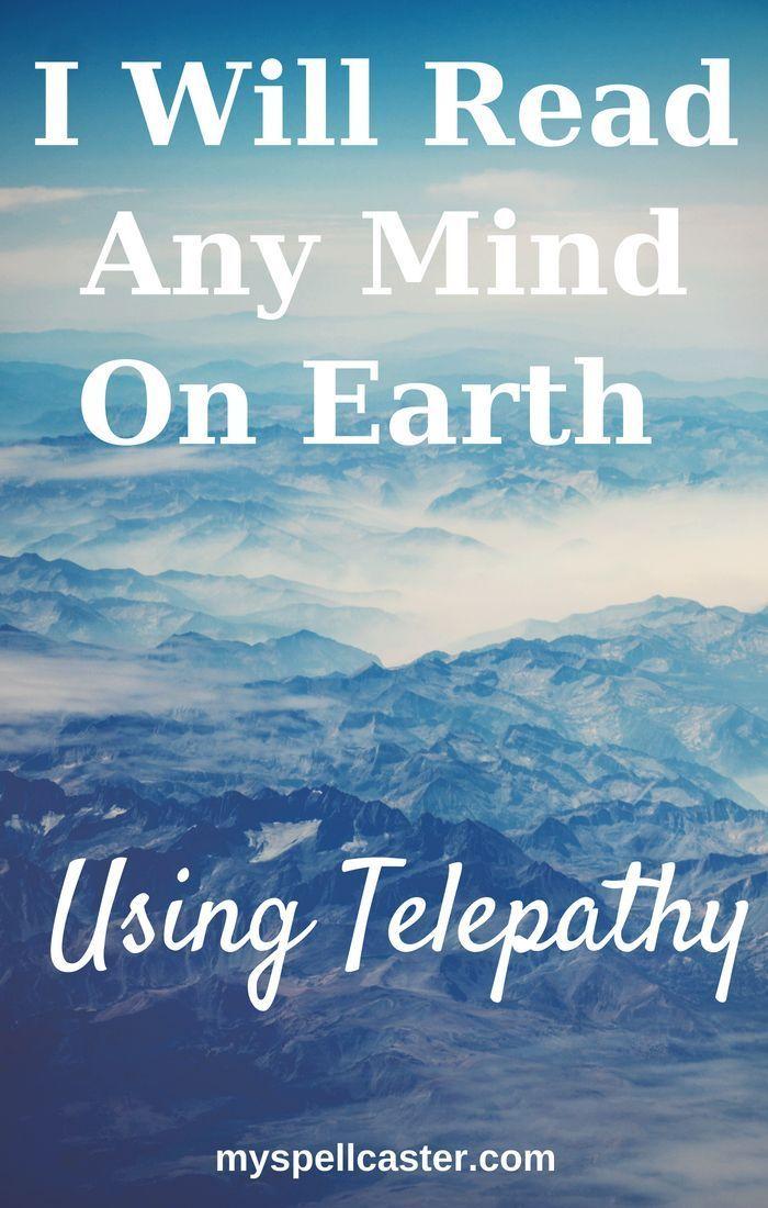 Mind Reading Telepathy, White Spell Mind reading tricks