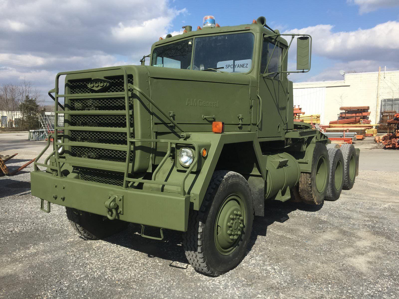 1980 Am General M920 Met Truck Tractor 8x6 Com Imagens Caminhoes