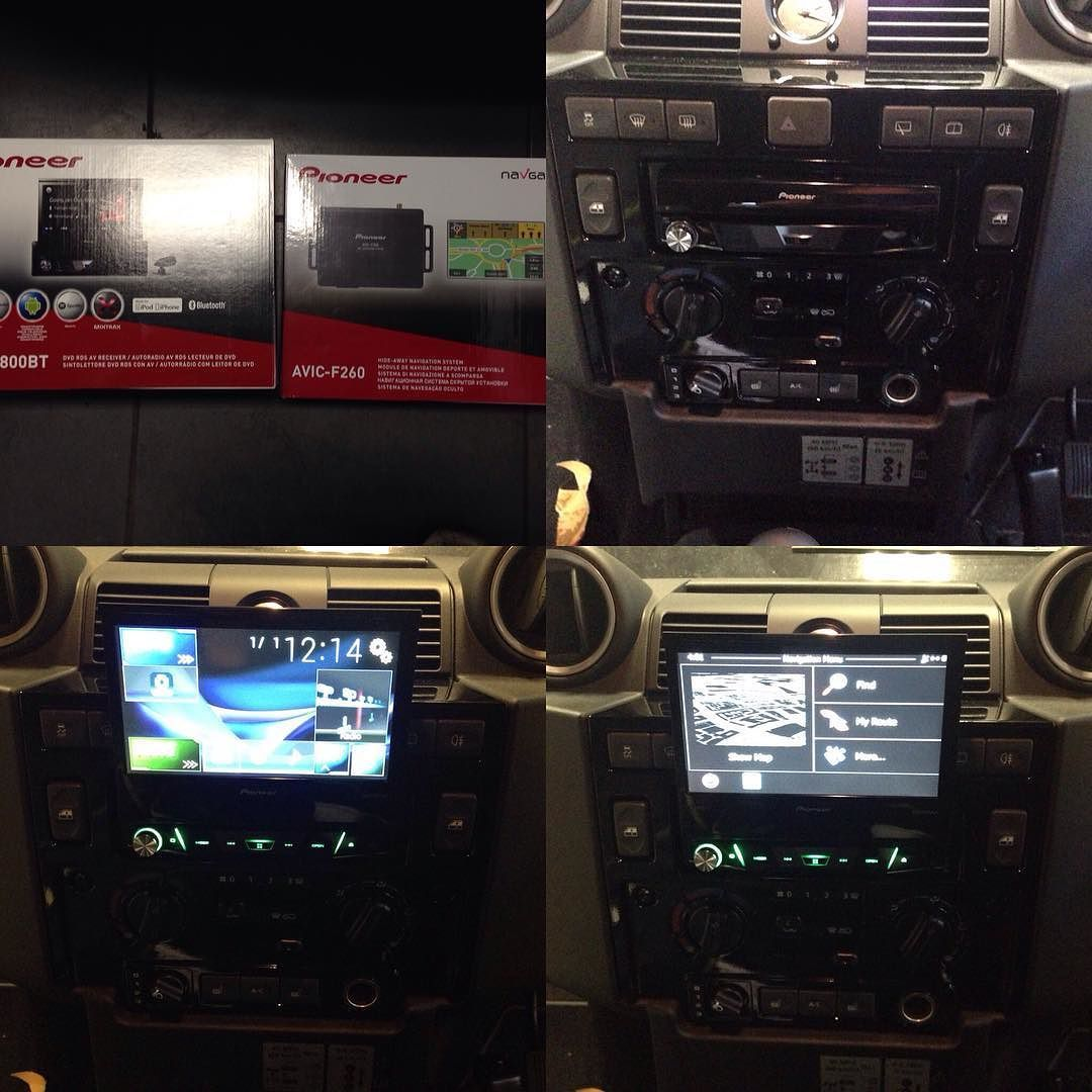 pioneer avh x7800bt be nungsanleitung ata 110 wiring diagram land rover defender navigation upgrade using
