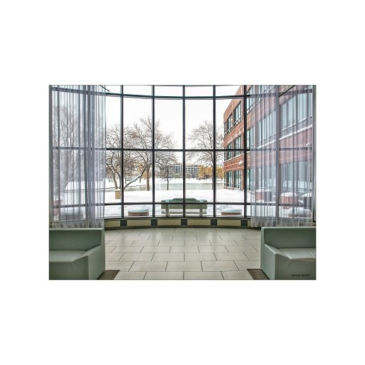 Aluminum Hidden Frame Glass Curtain Wall With Reflective Glass