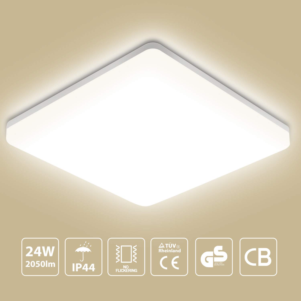 Oeegoo 18w 1550lm Led Ceiling Light Amazon De Beleuchtung