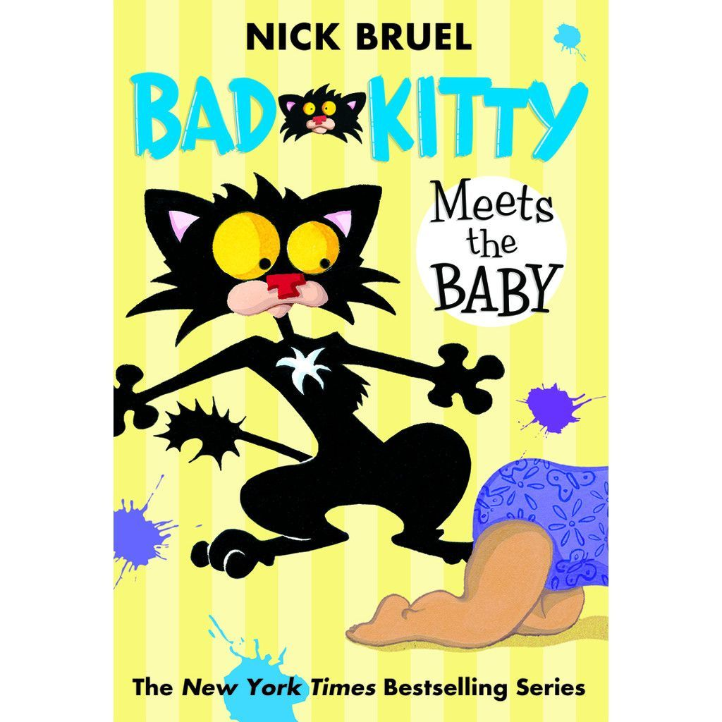 Bad Kitty: Meets the Baby (Paperback)