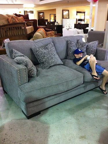 Looks Like The Worlds Most Comfortable Couch