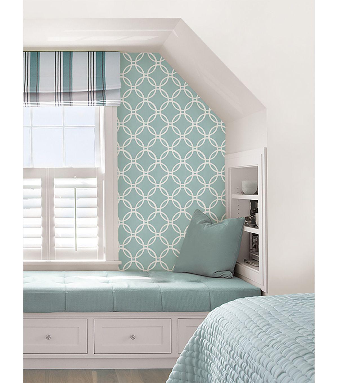 WallPops® NuWallpaper™ Blue Links Peel And Stick